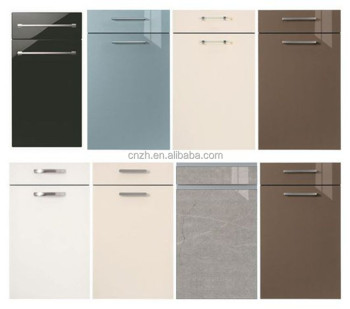 New Color Acrylic Kitchen Cabinet Door With Handles Buy