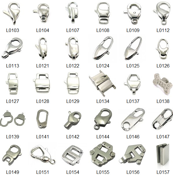 High Quality Stainless Steel Fancy Jewelry Clasps Buy