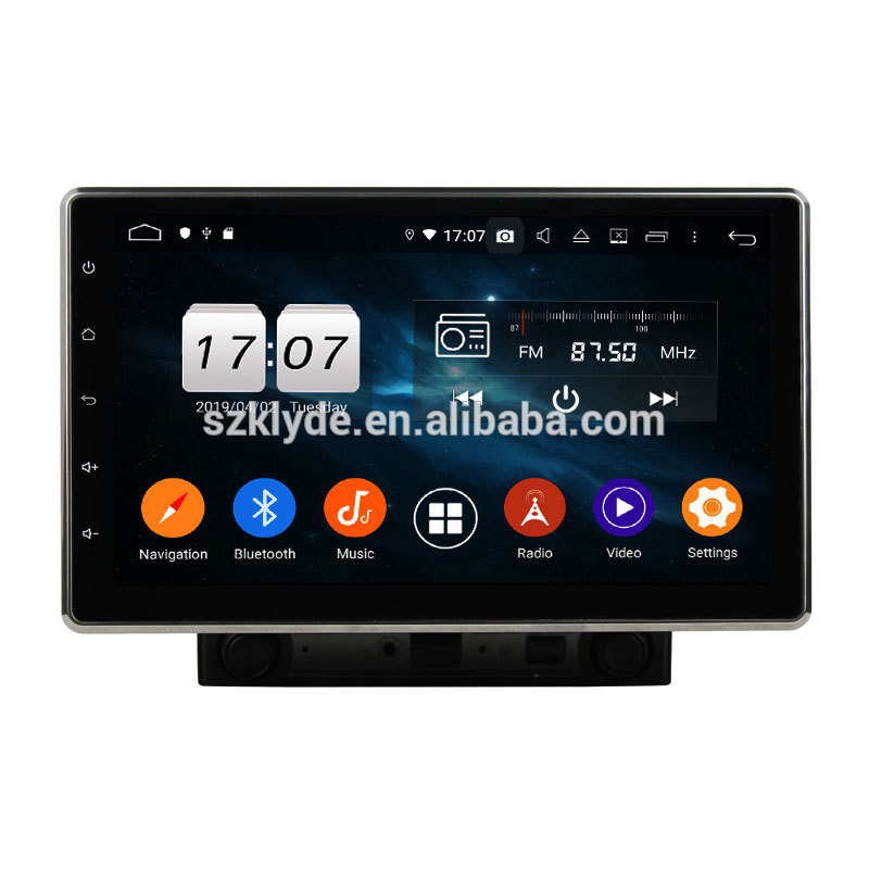 10.25 inch PX5 PX6 Android 9.0 radio audio player car multimedia system For 2020 Sonata with RCA video output