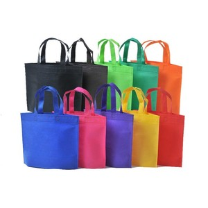 HIT factory professional custom recyclable reusable durable cheap promotional printing rose gold metallic non woven bag