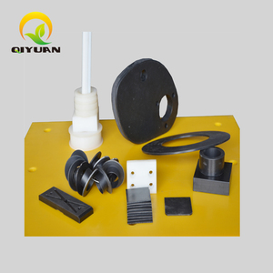 Computer Numerical Control plastic hdpe UHMWPE accessories Irregular Machined Parts