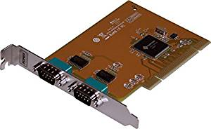 2-Port RS-232 Serial PCI Card (SER5037A)