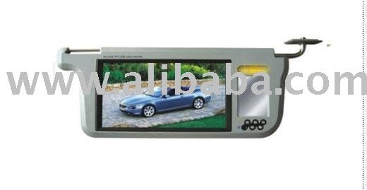 SUN VISOR DVD WITH LCD MONITOR