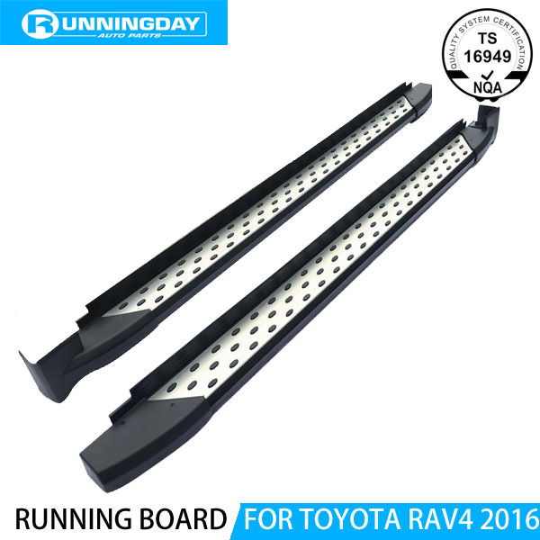 Oe Style Running Board Side Step For RAV4 2016 Nerf Bar Auto Accessories
