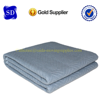 Gray color economy moving pads/blankets with good quality70-75lbs/dozen