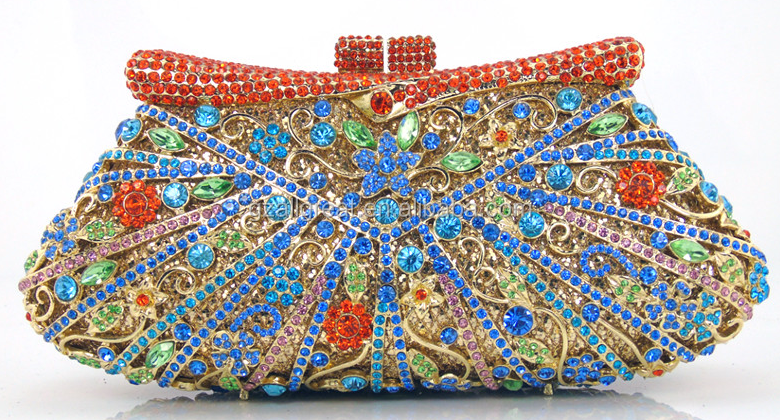AB7000#165 Exporters and manufacturers of austrian crystal evening bags