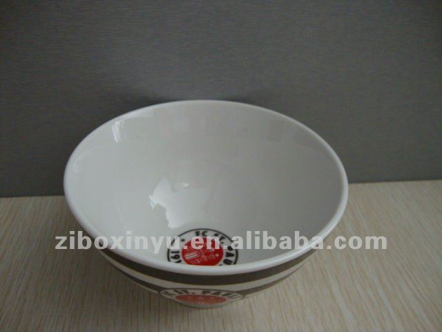 15cm porcelain bowl with full printing for promotion