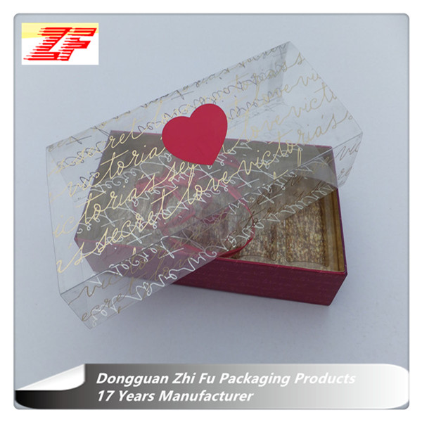 Plastic Wrapping Sleeve For Perfume Box Packaging Paper