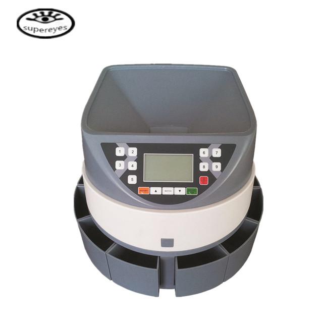 New Automatic Money Change Counter Digital Sort Coin Sorter Machine