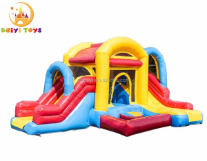 Hot sale products inflatable bouncy castle combo slides for kids outdoor entertainment