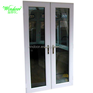 Building project Vinyl window for house/office/hotel install white color Vinyl window and door