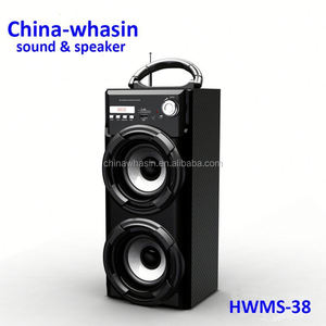 Hifi DVD Mini Combo System/wood portable Home Theater Speaker