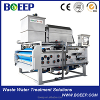 PLC control stainless steel belt press dewatering for sale
