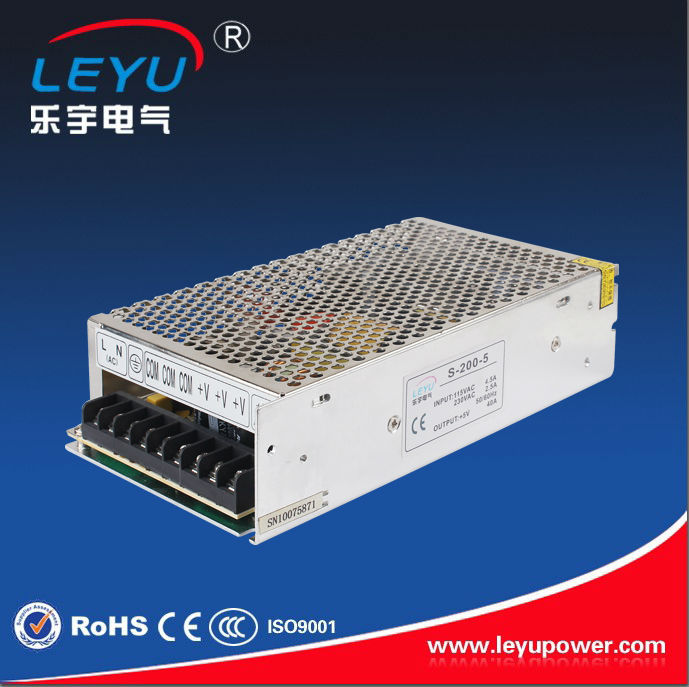 High efficiency S-200-24V ac dc single output 200w led tattoo power supply digital adaptor approved CE ROHS