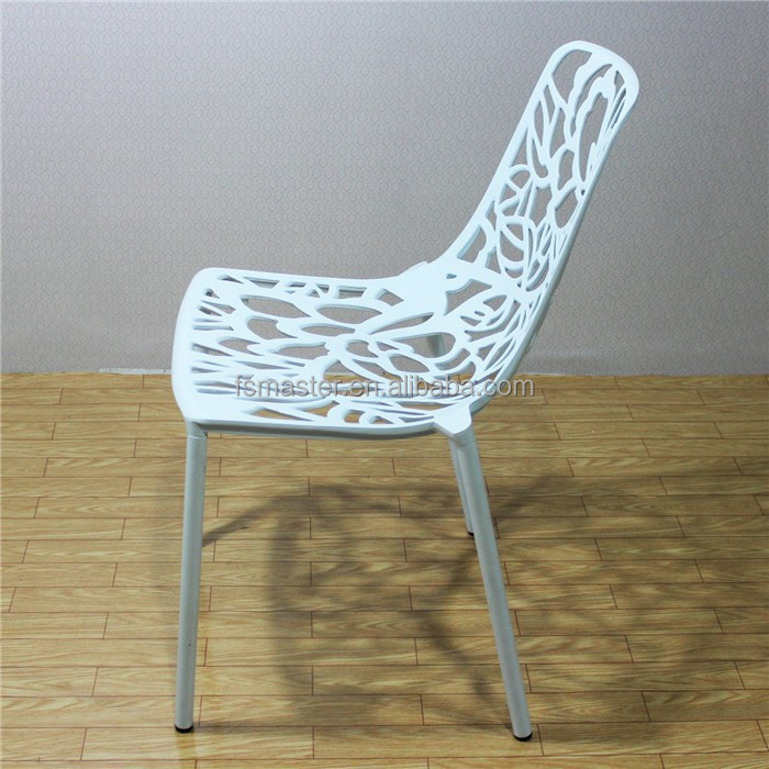 Muebles de jardín al aire libre de aluminio fundido replica ...
