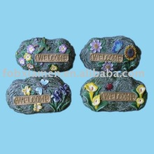 resin garden decorative stepping stones