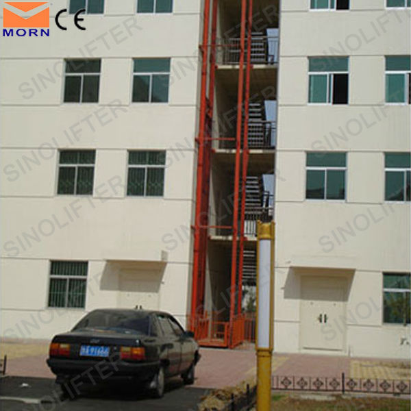 5m vertical electric lift ladder for sale