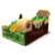 Original design inflatable bouncer with slide used inflatable indoor playground