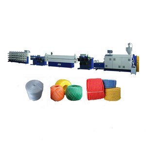 PP PLASTIC TWINE BALER TWINE SPOOL FILM EXTRUDER PRODUCTION LINE