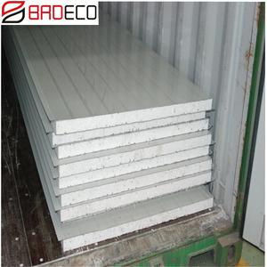 Fire Resistant Thermocol Insulation EPS Foam Board Sandwich Panel