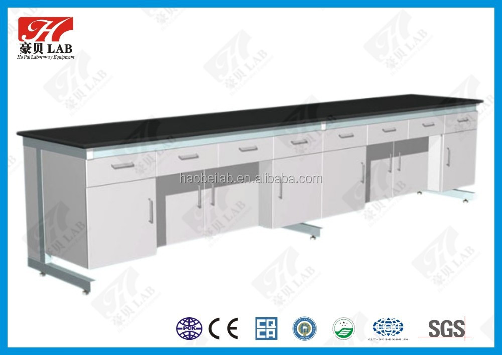 Not easy to breed bacteria stainless steel laboratory bench for Chemical / Microbiology laboratory