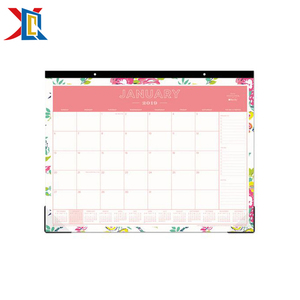 Custom Tear Off Paper Printing Daily Monthly 2019 Desk Pad Wall Calendar