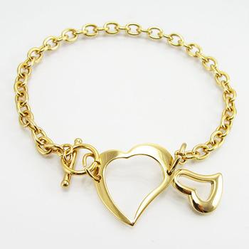 Las Gold Bracelet Models Metal Love Fancy Jewelry