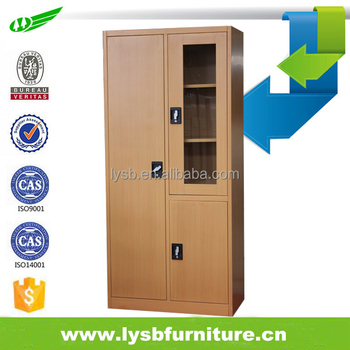 China Supply cherry colour steel closet with glass doors  sc 1 st  Alibaba & China Supply Cherry Colour Steel Closet With Glass Doors - Buy ... pezcame.com