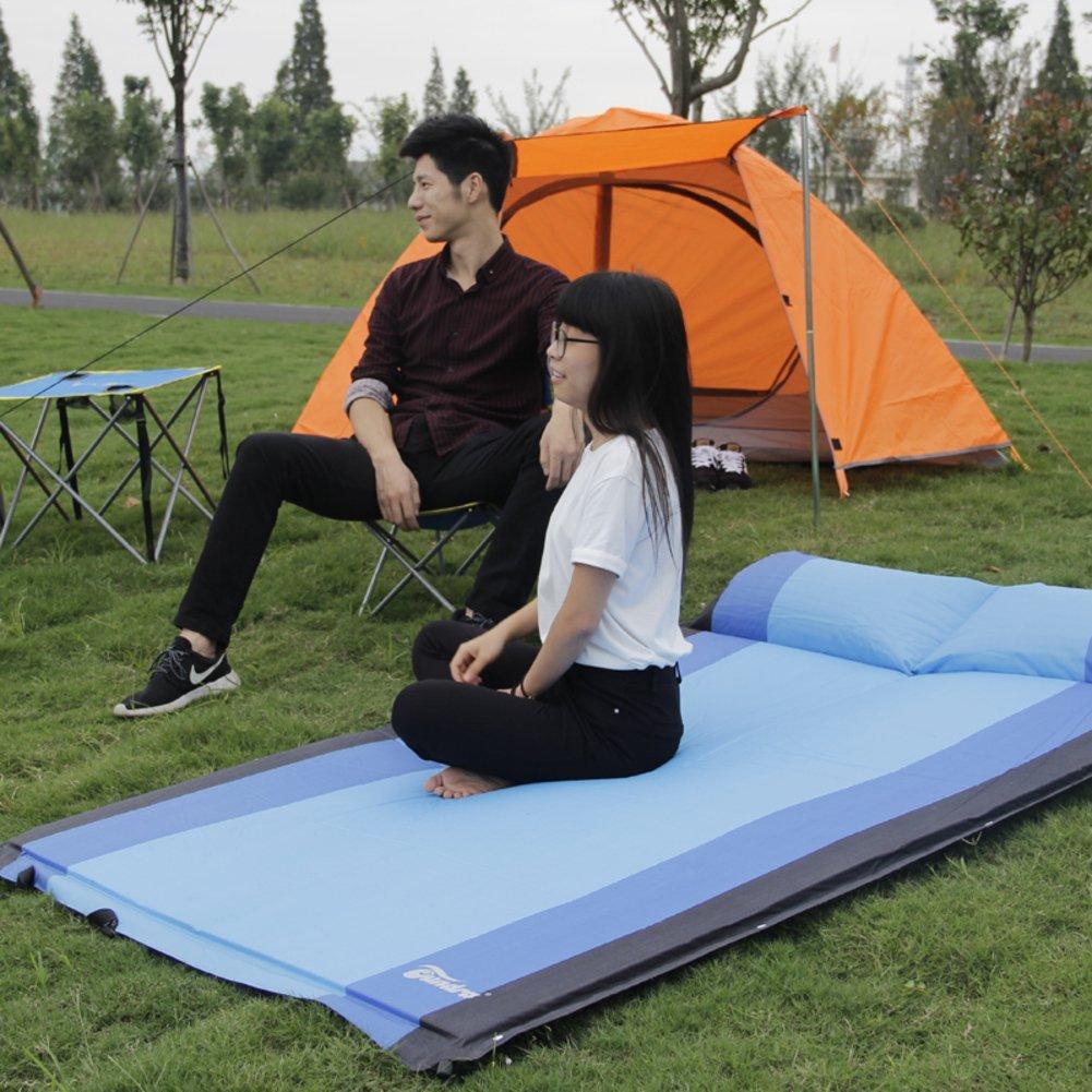 mat/Outdoor tent sleeping pad/ inflatable cushions/Double automatic inflatable cushions/Lawn outdoor camping mat