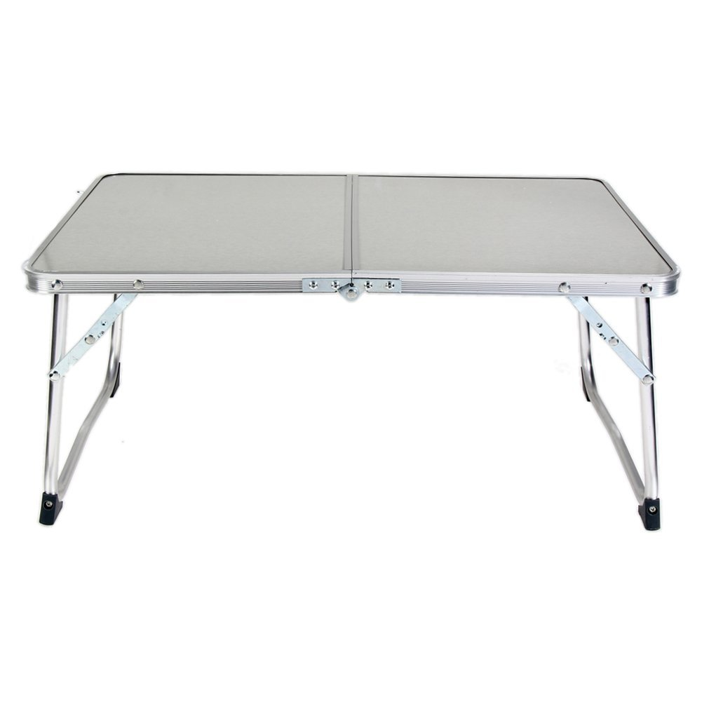 WinnerEco Portable Portable Folding Laptop Computer Notebook Table, Bed Tray Table Desk, Outdoor Picnic Table (White)