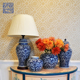 Antique design Chinese traditional ceramic porcelain home decorative luxury table lamp