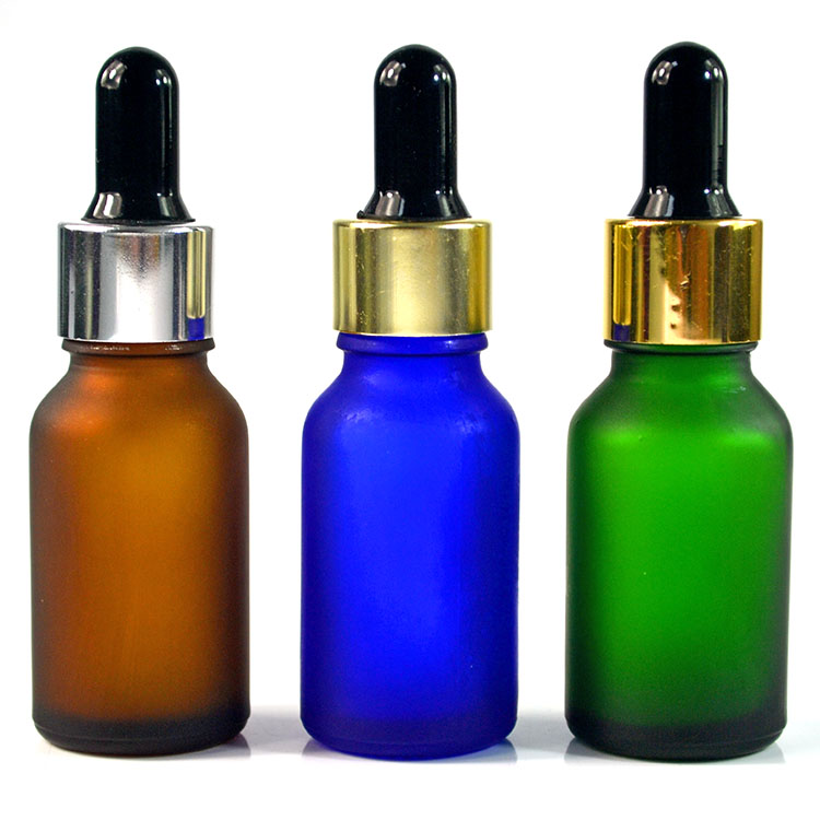HIgh quality boston glass essential oil 5ml 10ml 15ml 20ml 30ml 50ml 100ml clear green amber glass dropper bottle with pipette