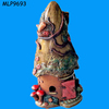 New Product Coloful Resin Cottage Fairy Houses