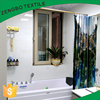 High quality waterproof home digital printed shower curtain