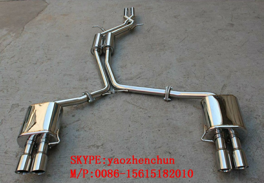 Exhaust System Muffler S5 STAINLESS STEEL