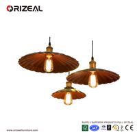 Iron Shade Ceiling Chandelier Fitting Vintage Retro Pendant Lamp Shade OZ-AL652