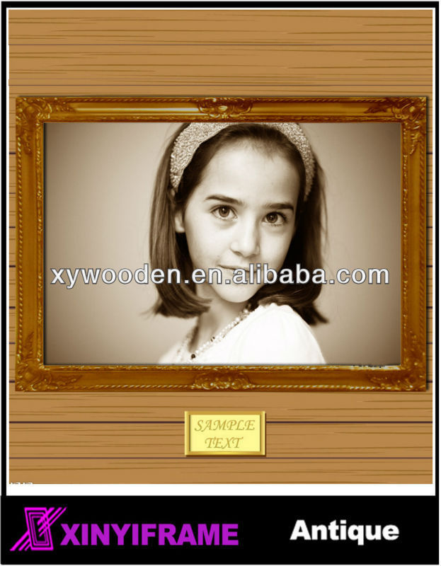 natural pine wooden frames