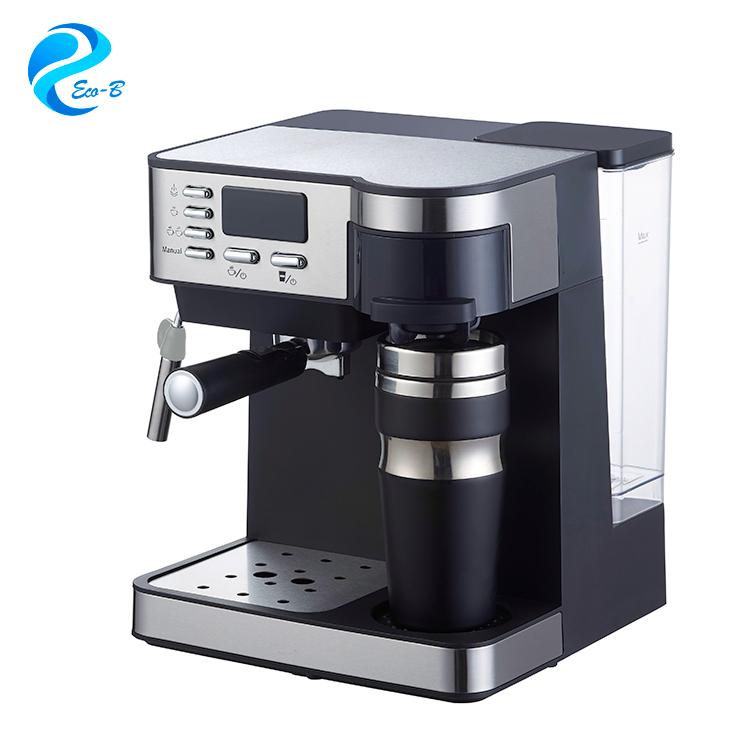 Latest 125l Digital Drip Coffee Maker8 10 Cups Family Italian Machine Espresso