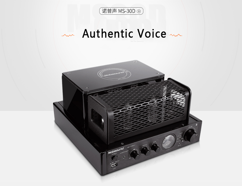 New 2017 MS-30D hifi tube Amplifier 25W+25W 110V 220V Support Usb Power amplifier MS-10D MKII upgrade
