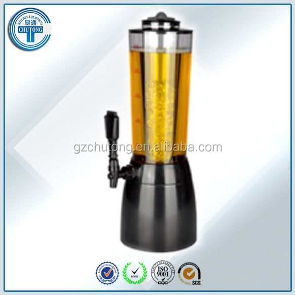 Beer Towers for Sale/Table Top 2.5L Beer Dispenser Beer Towers for Sale