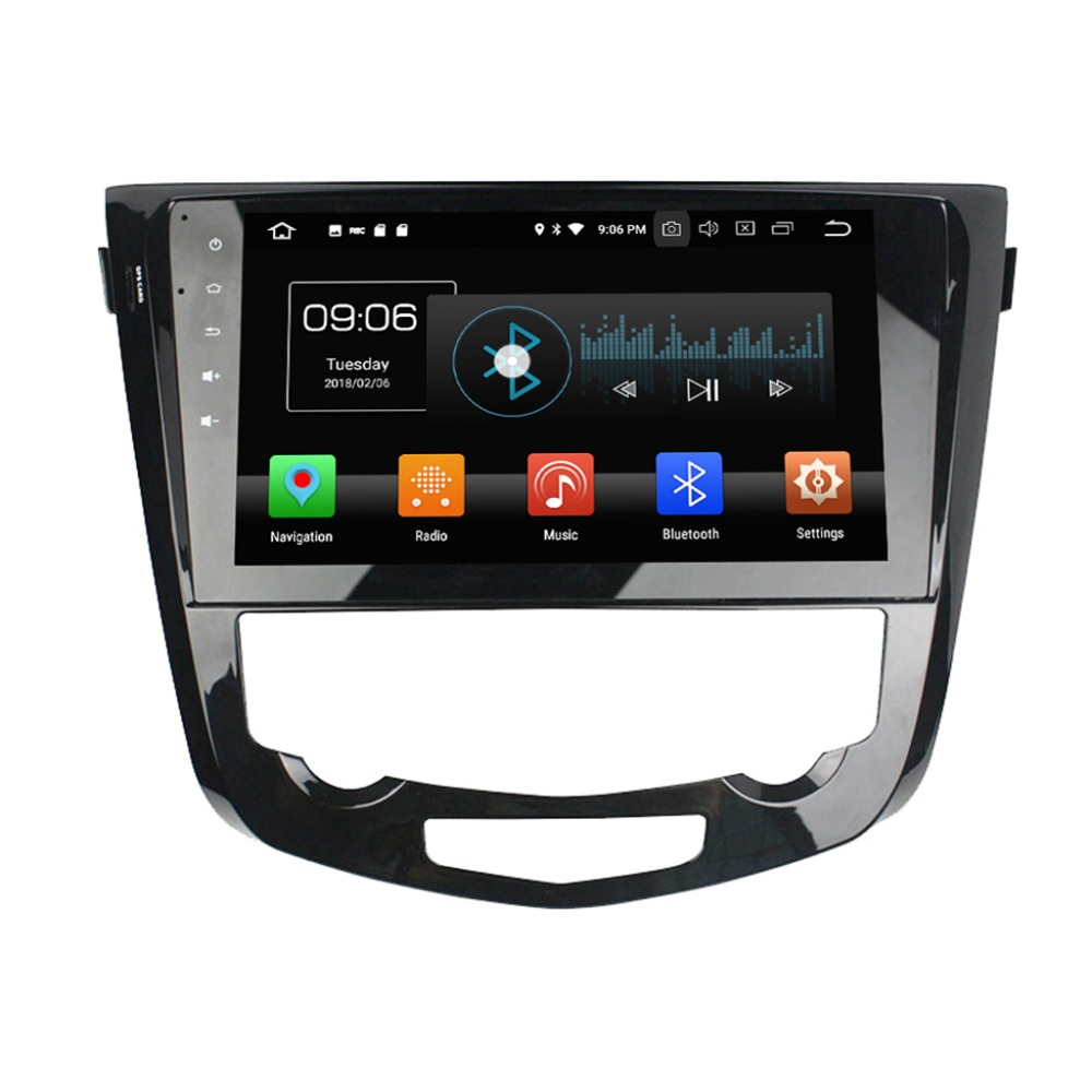 8202cb62e00d Klyde aftermarket auto radio KD-1060 android 8.0 octa core 10.1 inch gps  car DVD player for Qashqai AT 2013-2016