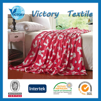 100% Acrylic/Polyester Mink Flannel Blanket