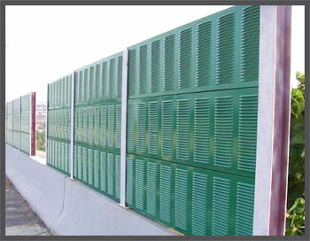 Highway Sound Metal Barrier Wall/noise Absorbing Barrier Fence/noise  Barrier Panel - Buy Sound Metal Barrier Panel,Noise Barrier Panel,Anti  Sound Wall