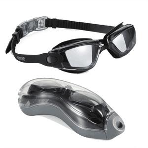 Amazon Hot Sale Women and Man Suitable Anti-Fog UV Protector Non Leaking Silicone Swim Goggles