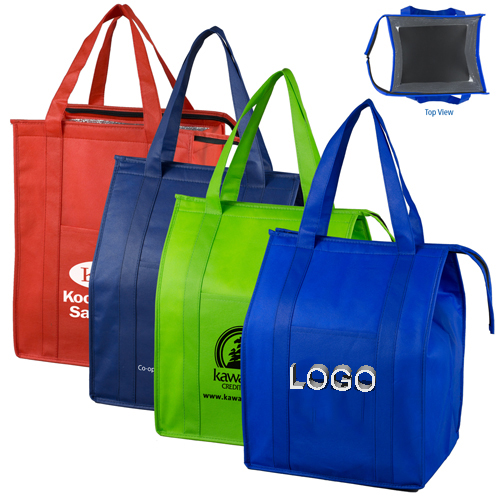 Customized reusable Aluminum Foil flexible cooler bag