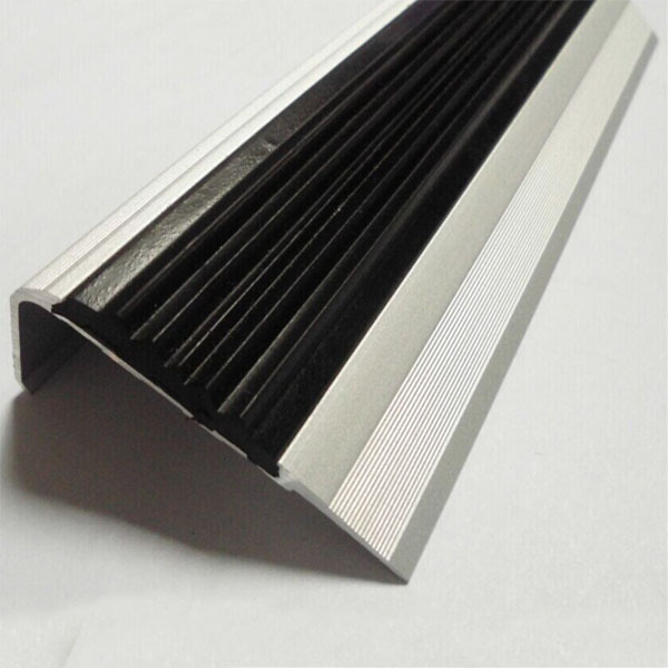Plastic Stair Treads Cover For Steps Rubber Stair Nosing