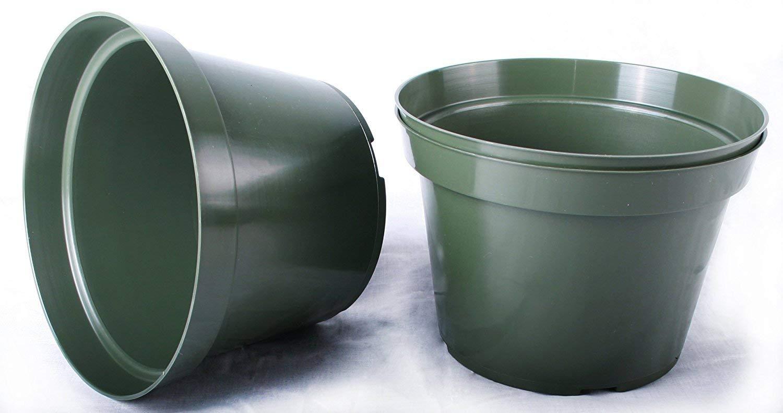Azalea Style ~ Pots ARE 6 Inch Round 100 NEW 6 Inch TEKU Plastic Nursery Pots