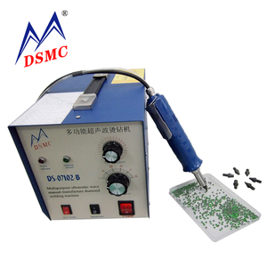Free shipping Ultrasonic welding machine rhinestone hot fix setting machine