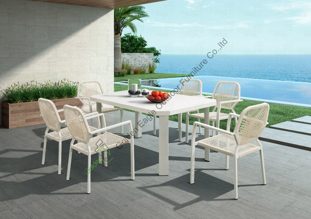 hotel patio furniture rattan dining set table and chair p