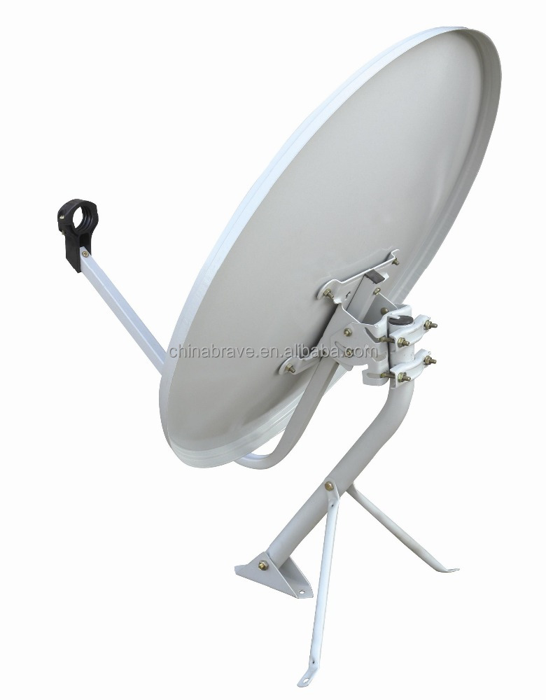 Ku Band Offset Dish 45*50cm High Quality Roof TV Satellite Antenna